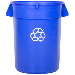 Big Bear Disposal Residential Blue Recycle Can