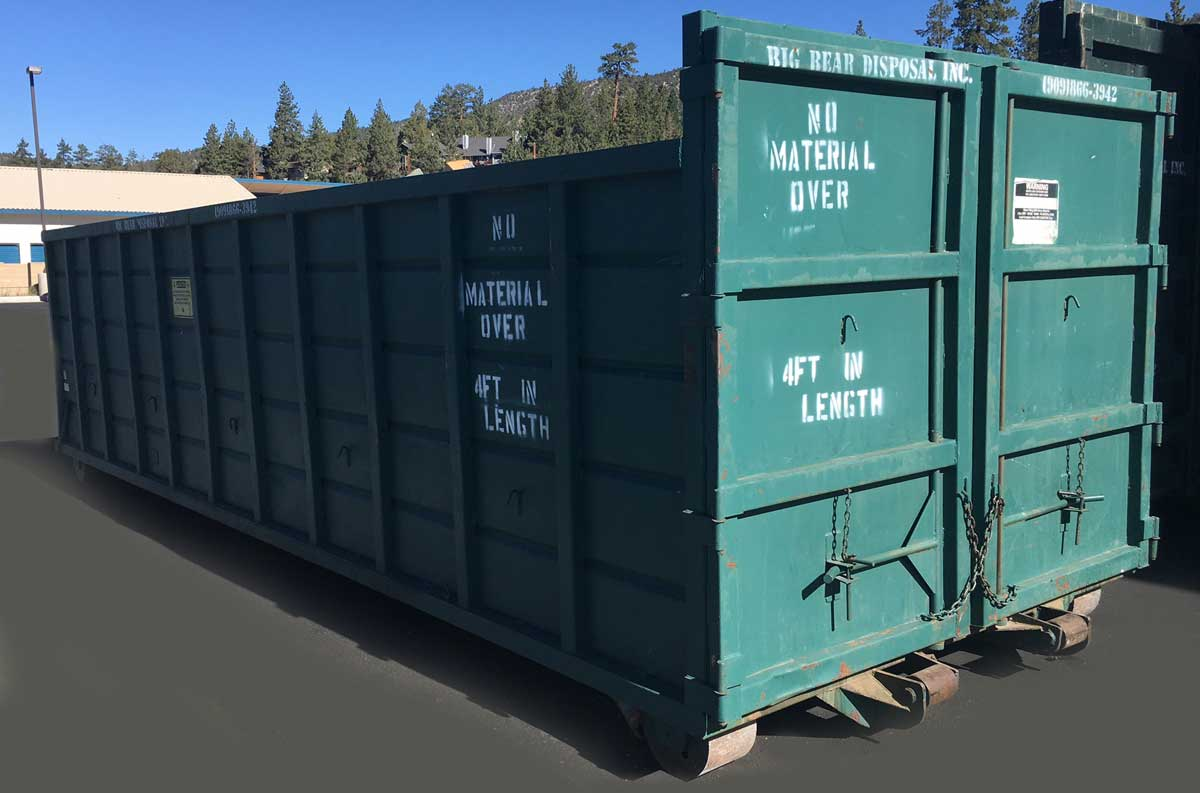 Big Bear Disposal, Inc. 30 Yard Roll-Off Container