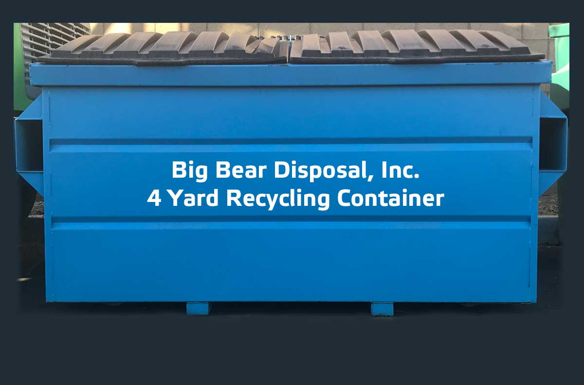 Big Bear Disposal, Inc. Recycling-Container