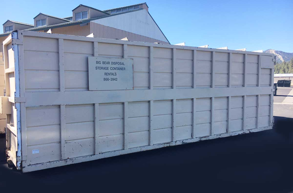 Big Bear Disposal, Inc. Storage Container