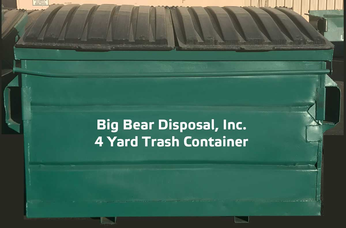 Big Bear Disposal, Inc. Trash Container