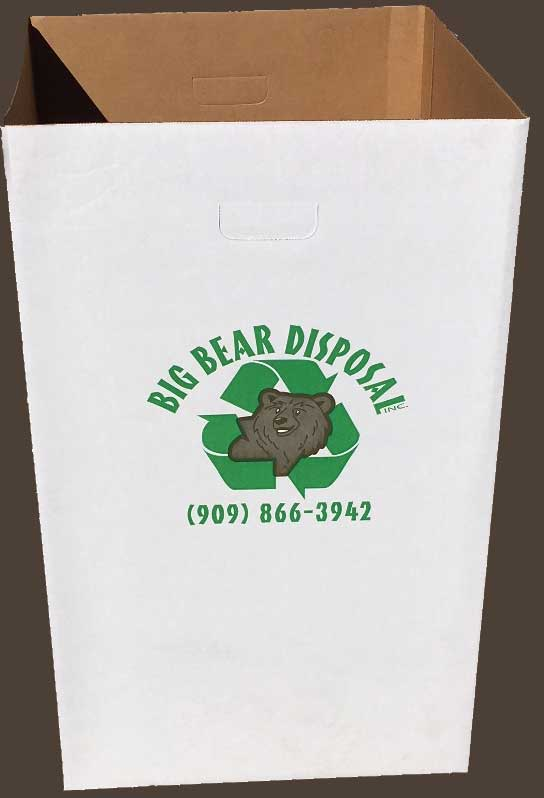 Big Bear Disposal, Inc. Event Trash Container