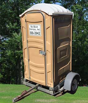 Big Bear Disposal, Inc. Portable Toilet Rental
